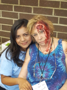 This make-up artist turned a generous volunteer into a victim needing serious medical attention!